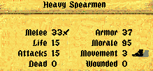 Fantasy General, скриншот, 98KB