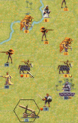 Fantasy General, скриншот, 85KB