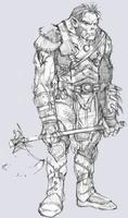 Baldur's Gate 2: Shadow of Amn, полуорк, 48KB