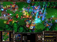 Warcraft, скриншот, 128KB