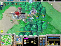 Warcraft 3: The Frozen Throne     скриншот, 145KB