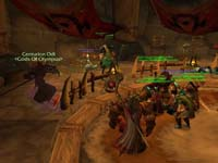 скриншот World of Warcraft Warsong Gulch, 65KB