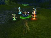 скриншот World of Warcraft Warsong Gulch, 61KB