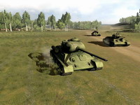 Танки Второй мировой: Т-34 против «Тигра»     скриншот, 149KB