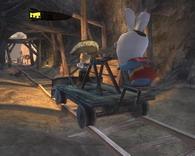 Rayman: Бешеные кролики     скриншот, 143KB