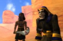 Анк 2: принц Египта     скриншот, 82KB