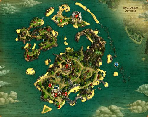 Попасть на острова свободы