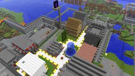 Minecraft, скриншот