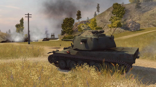 World of Tanks, скриншот